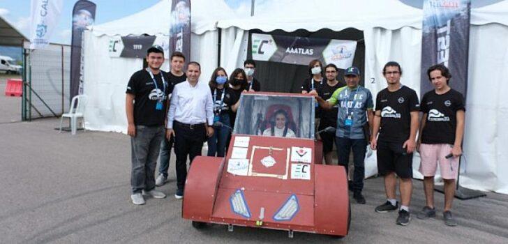 Liseli gençler Teknofest elektrikli araç yarışlarında yarıştı!