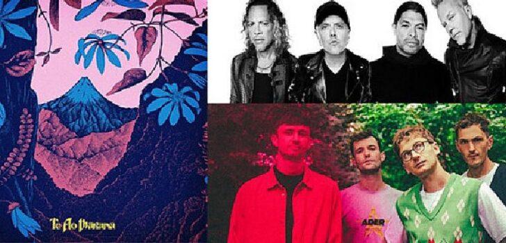 Lorde, Metallica ve Glass Animals'dan çıkışlar