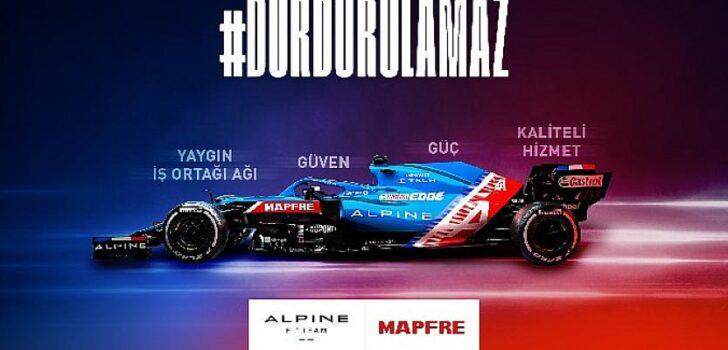 MAPFRE'nin sponsoru olduğu Alpine F1 Takımı İstanbul'da heyecanlı bir macera için sabırsızlanıyor