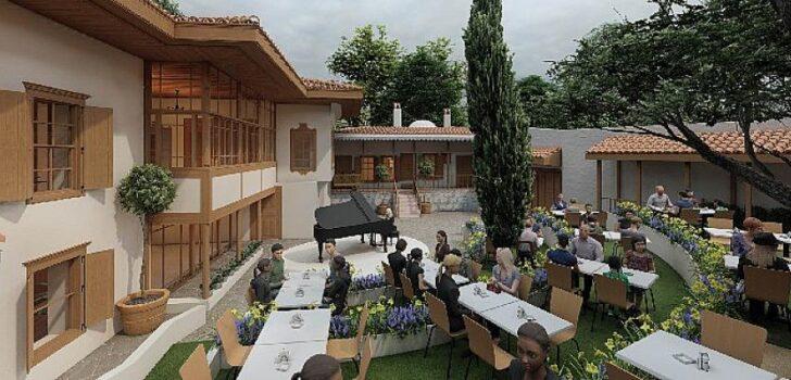 """Muğla Büyükşehir'den Bir Restorasyon Çalışması Daha """"Ağa Bahçesi Konağı"""""""