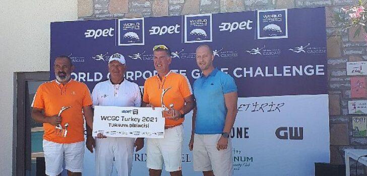 OPET Sponsorluğunda Düzenlenen Dünya Kurumsal Golf Turnuvası-Türkiye 2021 Şampiyonlları Belli Oldu