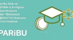Paribu Hub ve Boğaziçi Üniversitesi Yaşamboyu Eğitim Merkezi'nin Blokzincir Eğitimi için kayıtlar başladı