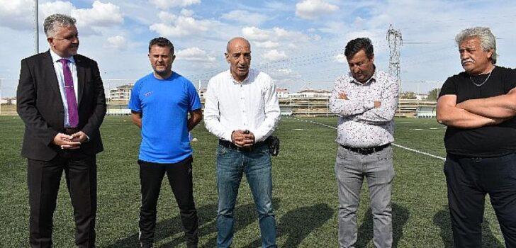 Türk futbolunun duayeninden Lüleburgazspor'a ziyaret