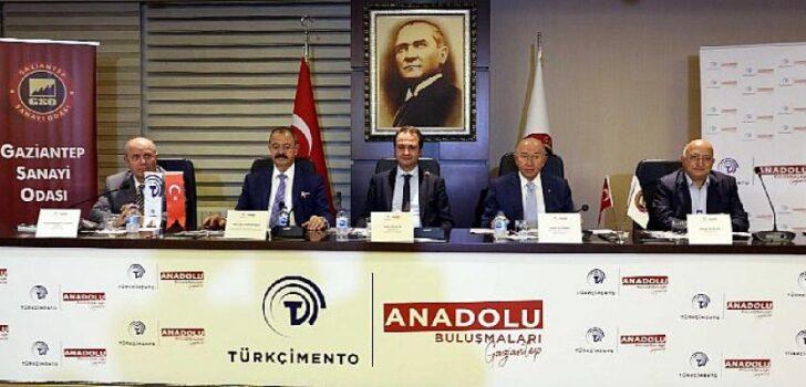 Türkçimento Anadolu Buluşmaları'nın üçüncüsü Gaziantep'te yapıldı